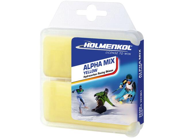 Holmenkol Alphamix Yellow Basis Cera 2x35g